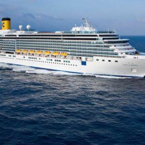 the cruise ship costa Luminosa